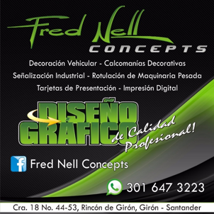 PUBLICIDAD FRED NELL
