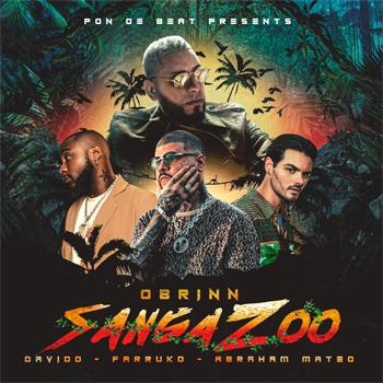 """ABRAHAM MATEO, FARRUKO, OBRINN y DAVIDO unen fuerzas en el lanzamiento de """"SANGA ZOO"""""""