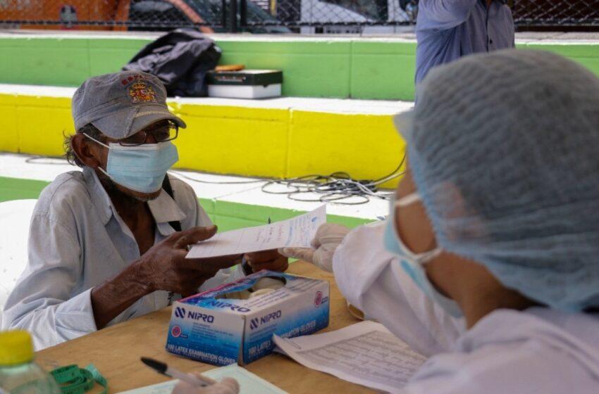 Alcaldía de Floridablanca realizó jornada vacunación para habitantes de calle
