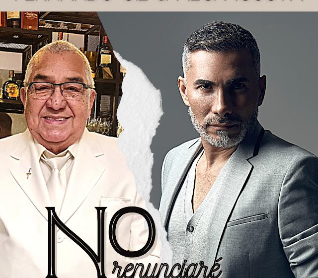 """FERNANDO GIL SE UNE AL GRAN ALCI ACOSTA PARA PRESENTAR """"NO RENUNCIARÉ"""""""