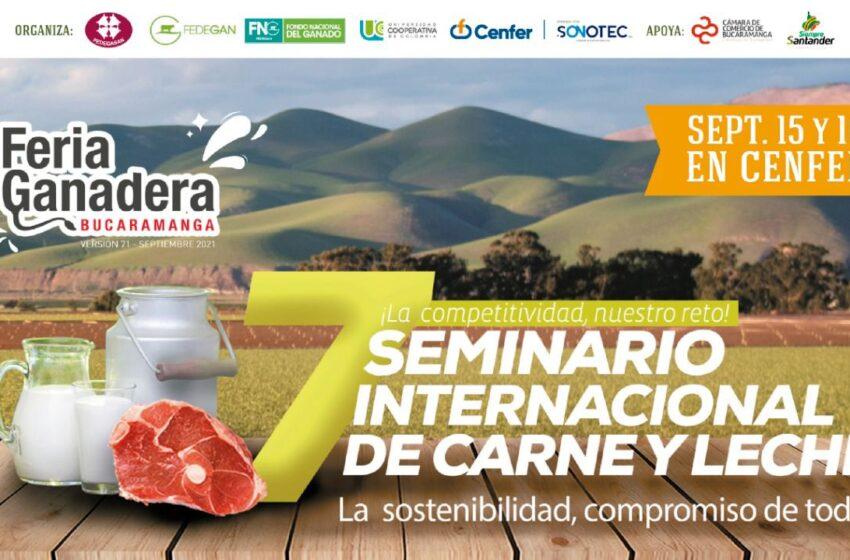 Jornada de actualización y optimización de la productividad en la Feria Ganadera  Inicia el 7° Seminario Internacional de Carne y Leche