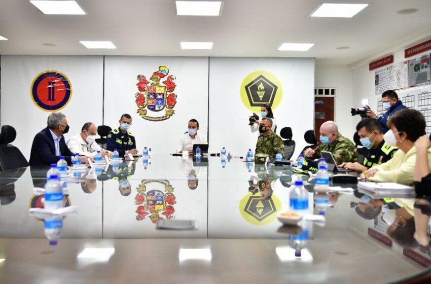 """""""Aquí no vamos a permitir que la UIS sea campo de batalla de los maleantes"""": Gobernador de Santander"""
