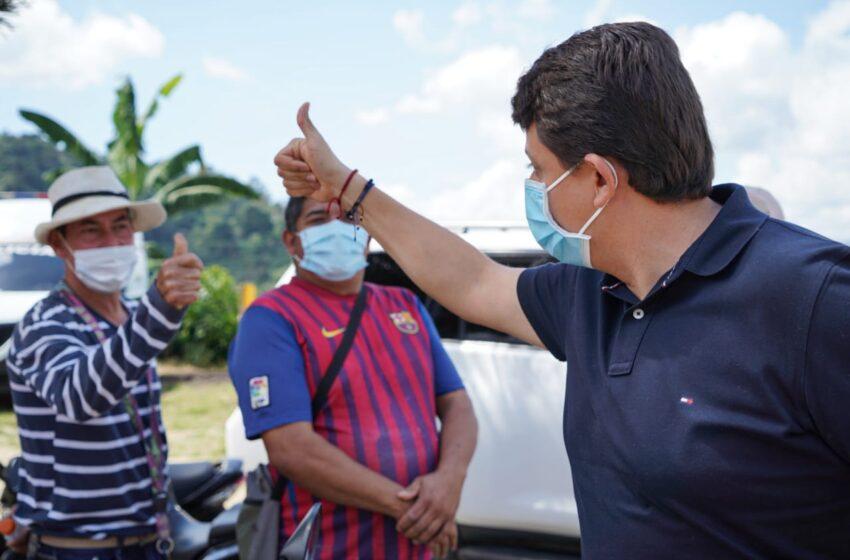 $2.200 millones en inversión rural, anunció el alcalde Miguel Moreno