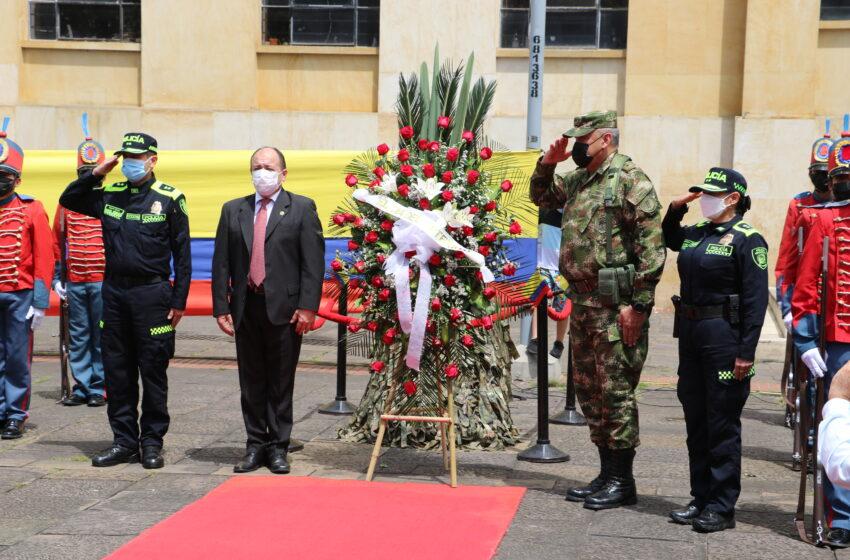 EN SANTANDER En Bucaramanga, rendimos un homenaje a nuestros héroes,en el día del Cívico del Veterano